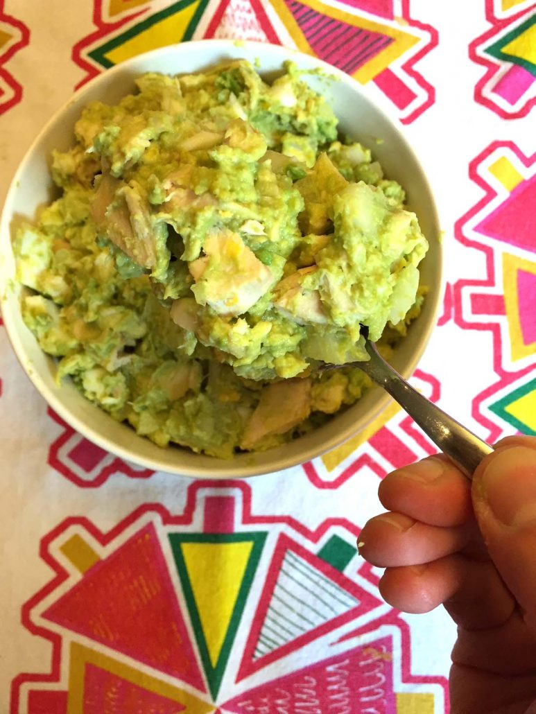 Healthy Chicken Salad Recipe With Avocado