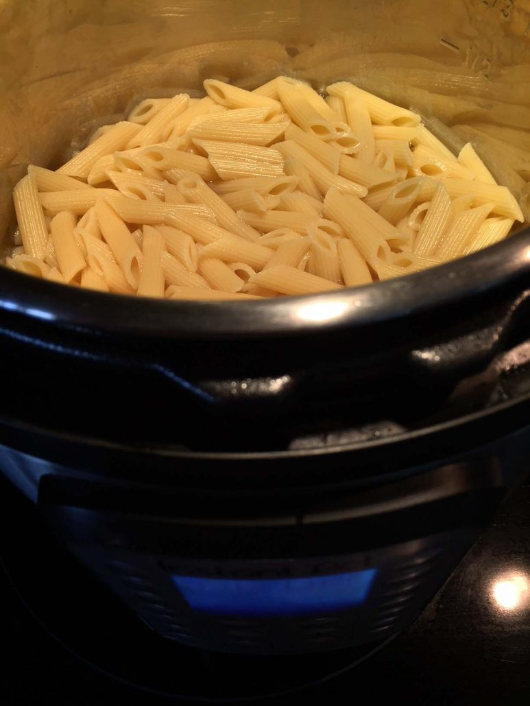 Instant Pot Cooking Pasta