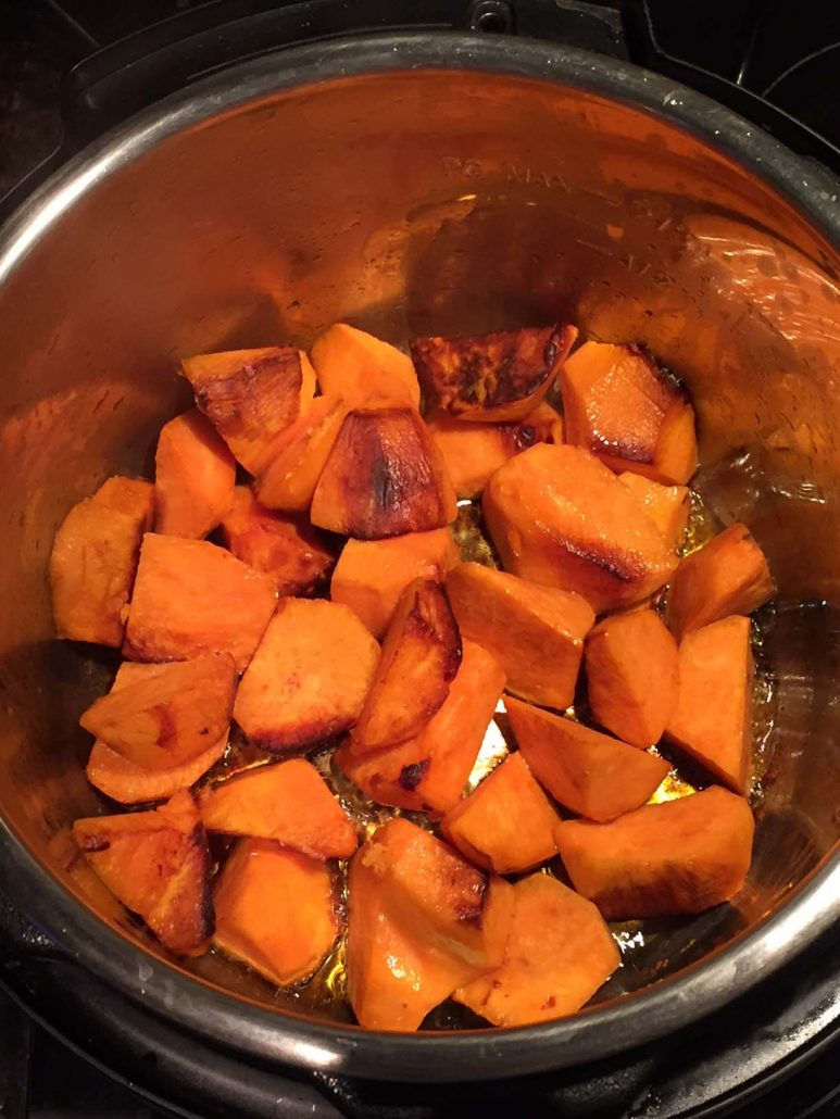 Roasted Sweet Potatoes In The Instant Pot