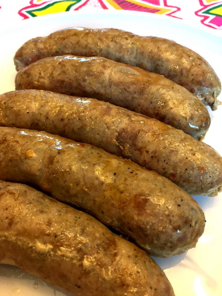 Instant Pot Baked Italian Sausages