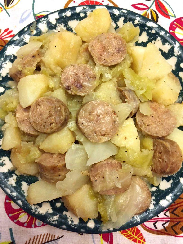 Instant Pot Kielbasa Cabbage Potatoes