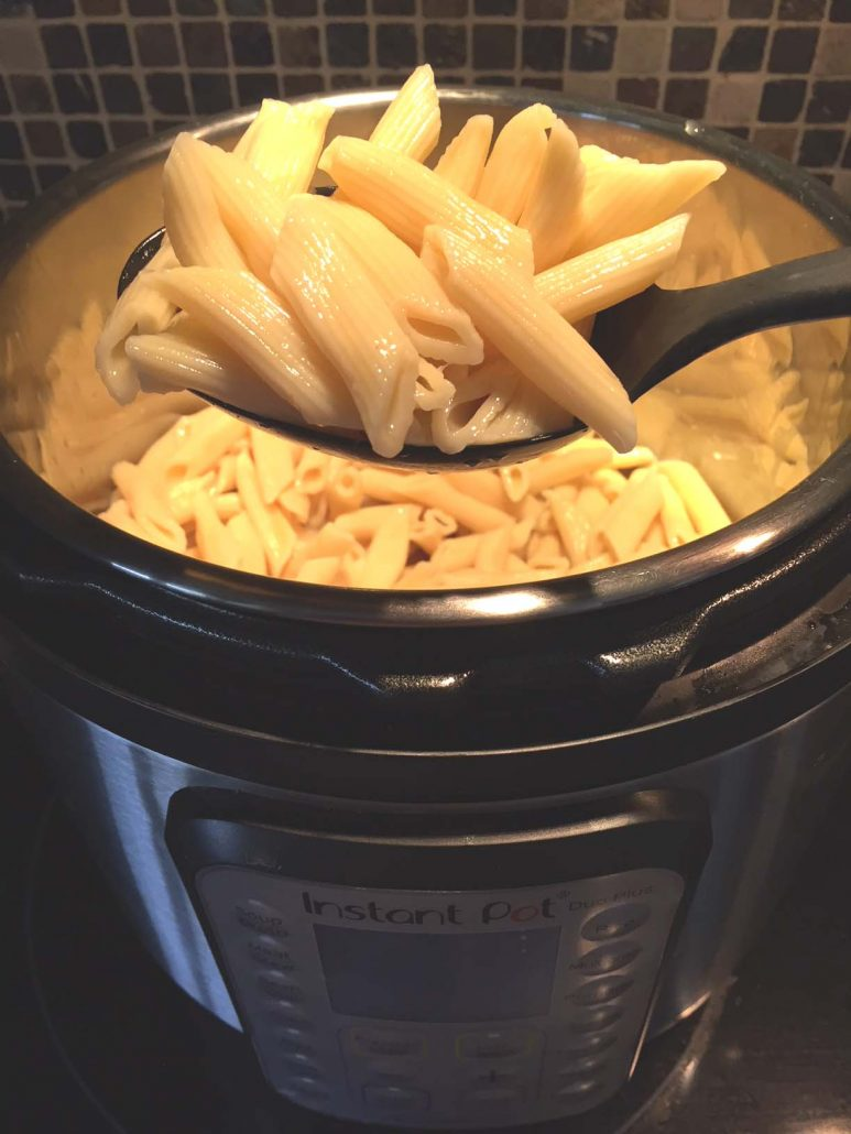 Instant Pot Pasta How To Cook Pasta In The Instant Pot Melanie Cooks