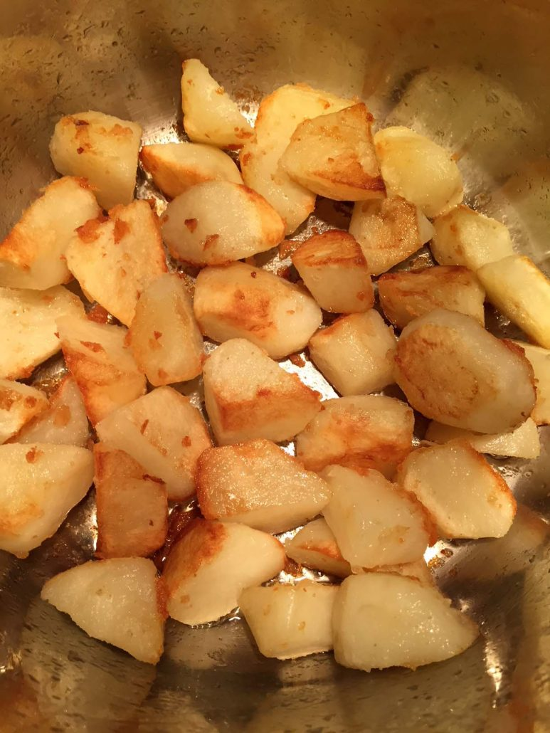 Instant Pot Easy Roasted Potatoes