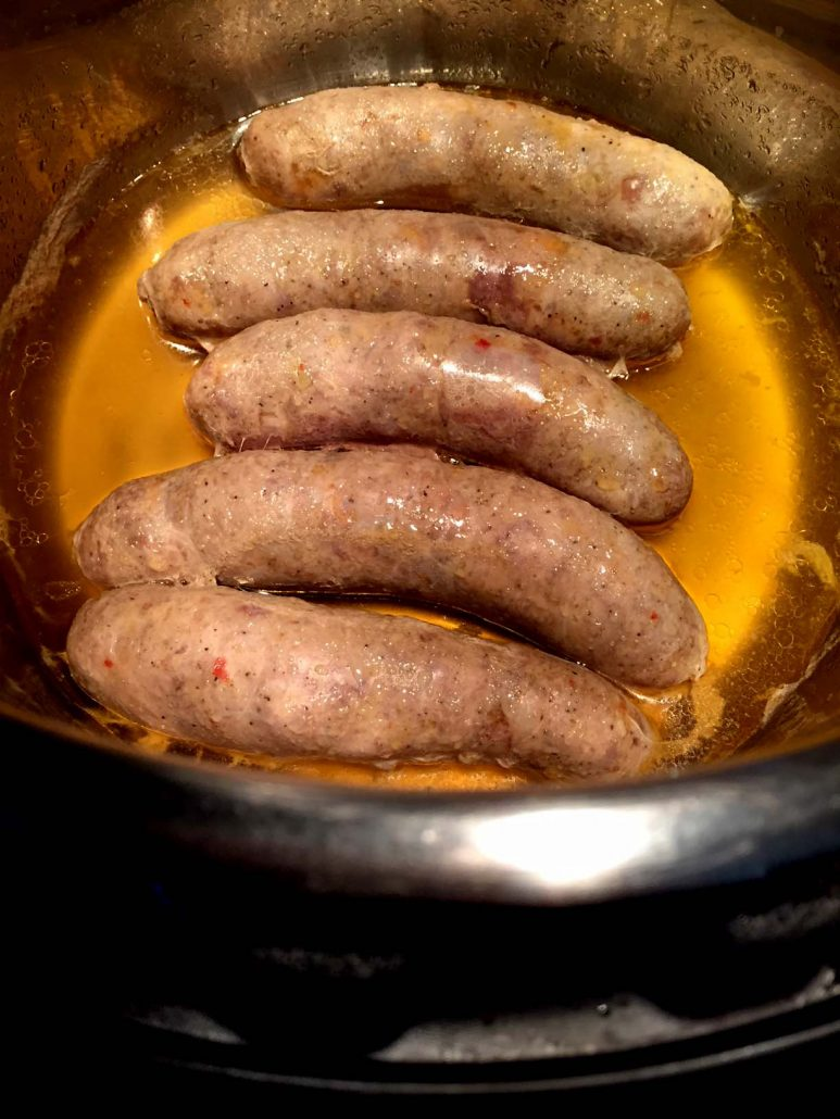 Cooking Sausages In The Instant Pot