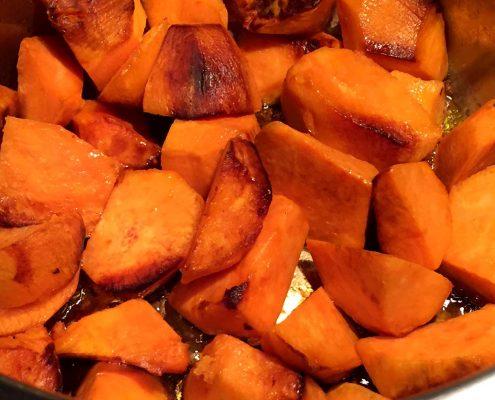 Instant Pot Roasted Sweet Potatoes Recipe