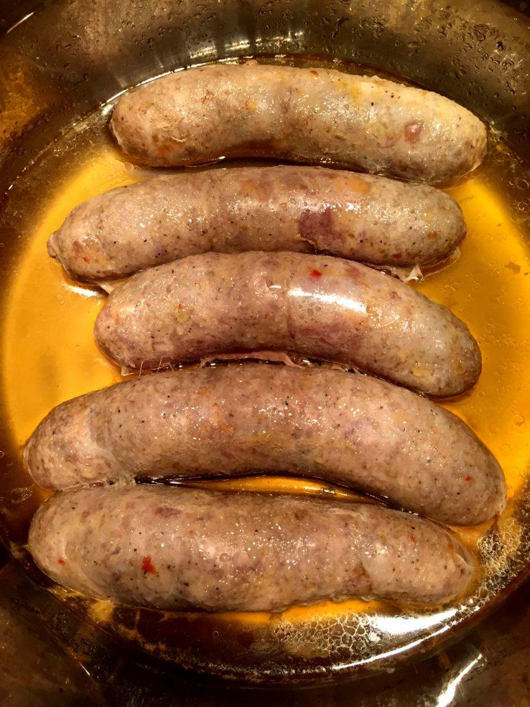 Instant Pot Italian Sausage