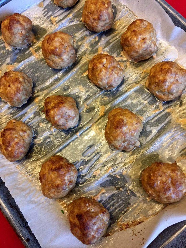 Easy Baked Keto Meatballs