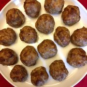 Keto Baked Meatballs Recipe