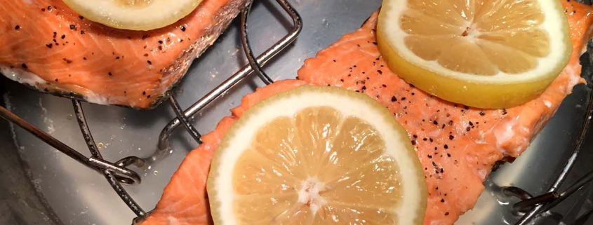 How to cook salmon in Instant Pot