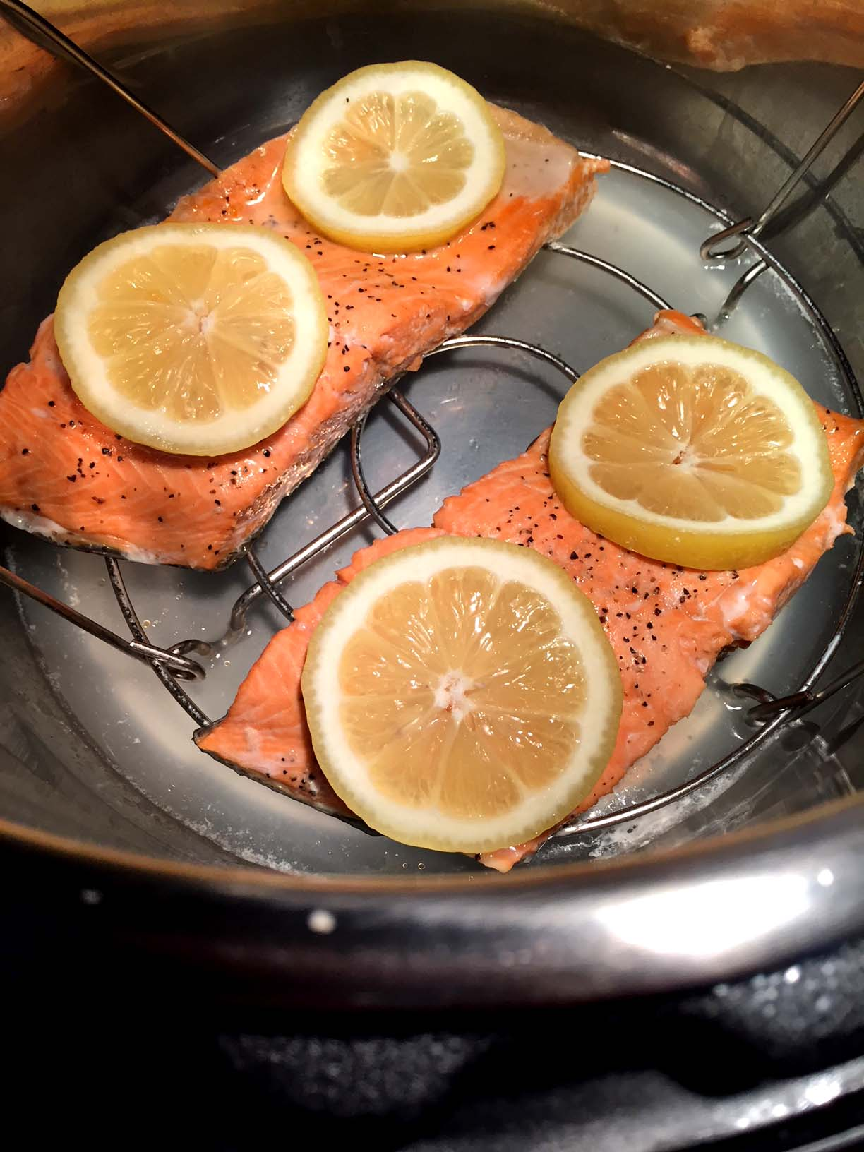 Instant Pot Salmon Fresh Or Frozen How To Cook Fish In