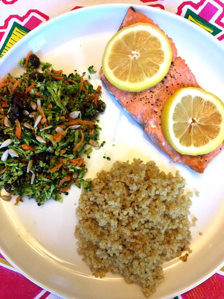 Instant Pot Salmon And Quinoa