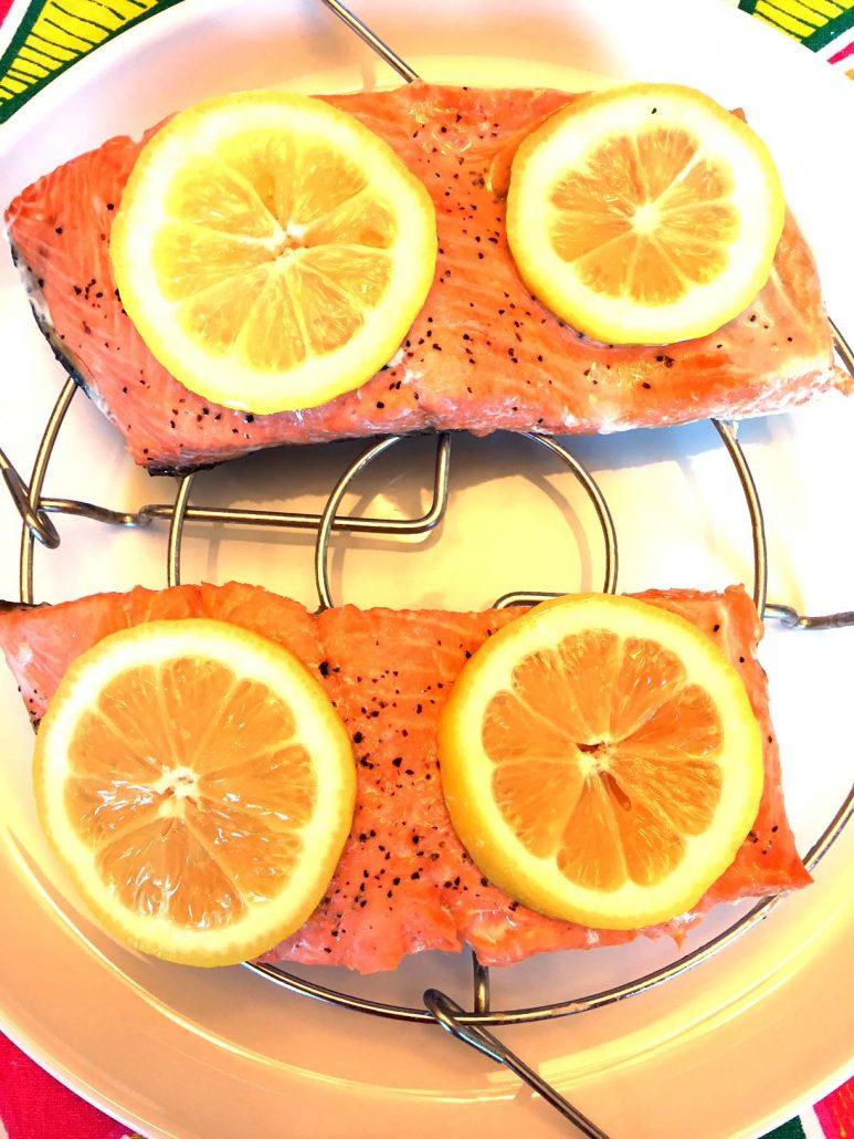 Easy Pressure Cooker Salmon