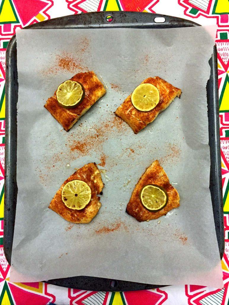 baked red snapper fillets