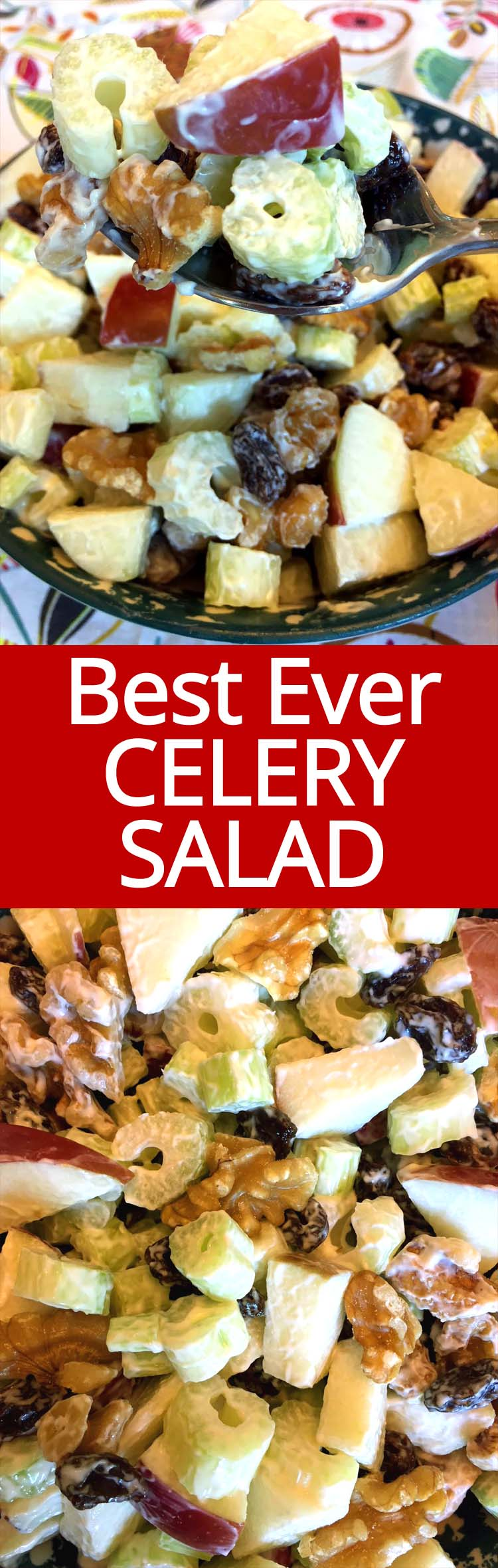This easy Waldorf salad is my most favorite celery salad ever! Super easy to make, simple is always best! Amazing!