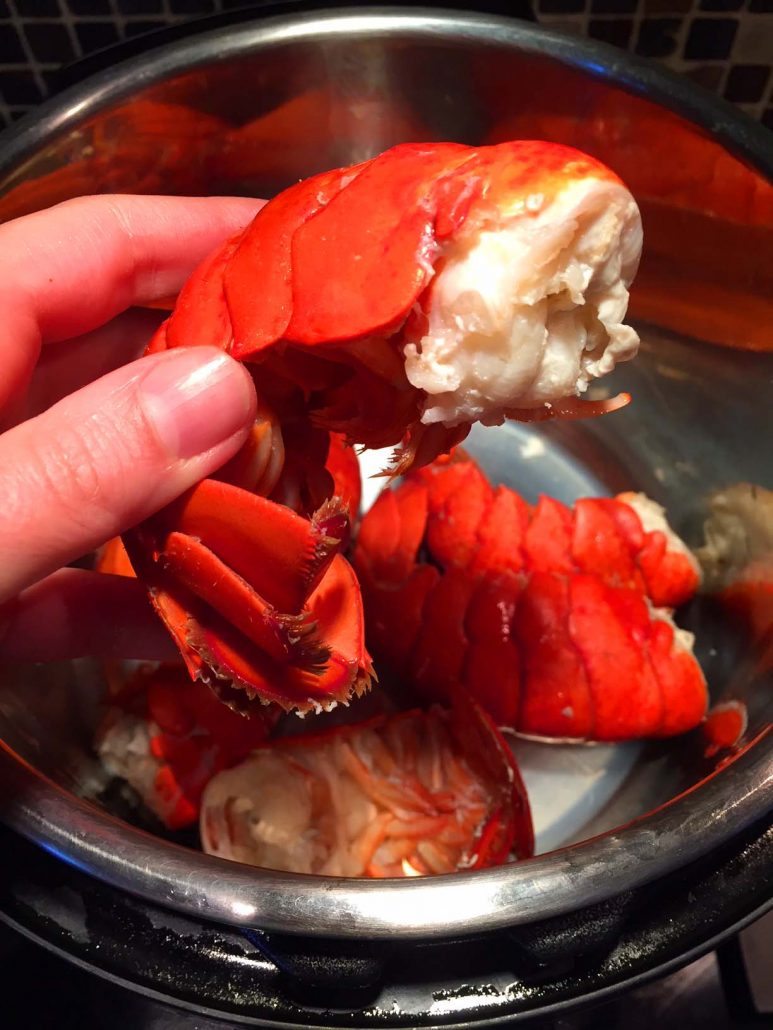 Instant Pot Lobster Recipe