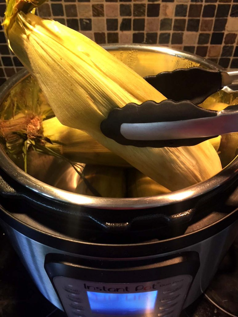 Instant Pot Corn In The Husks