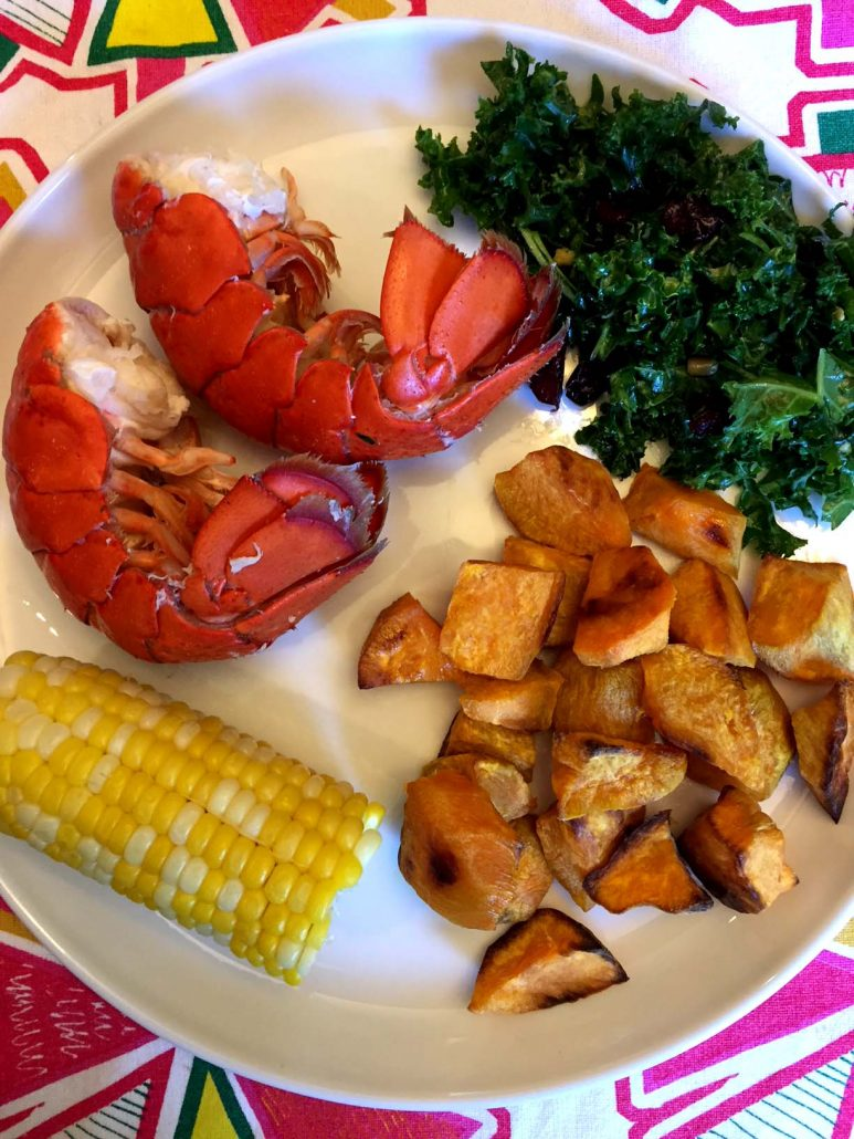 Instant Pot Lobster Dinner