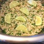 Instant Pot Cilantro Lime Rice (White Or Brown)
