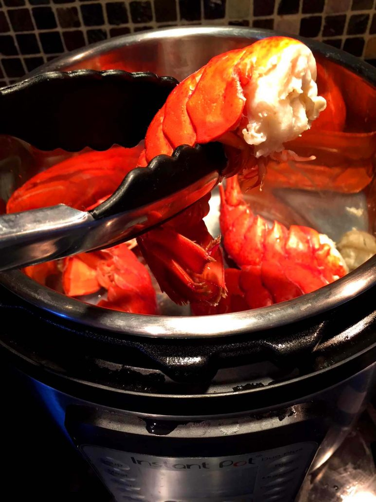Instant Pot Lobster
