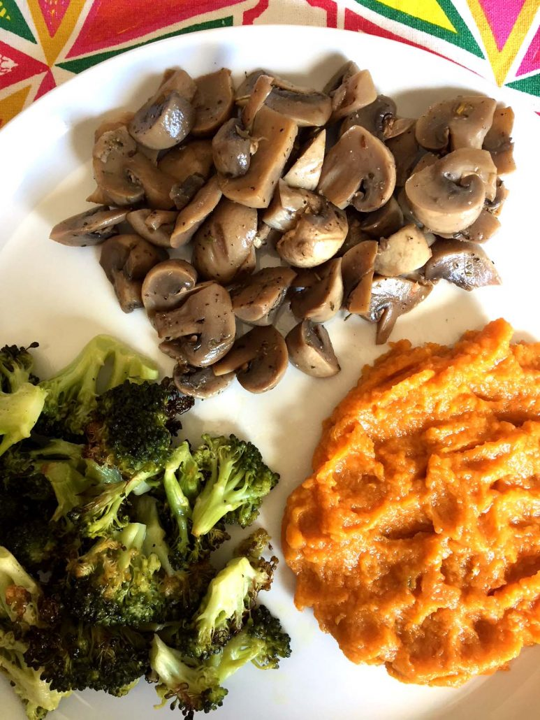 Instant Pot Mushrooms Dinner