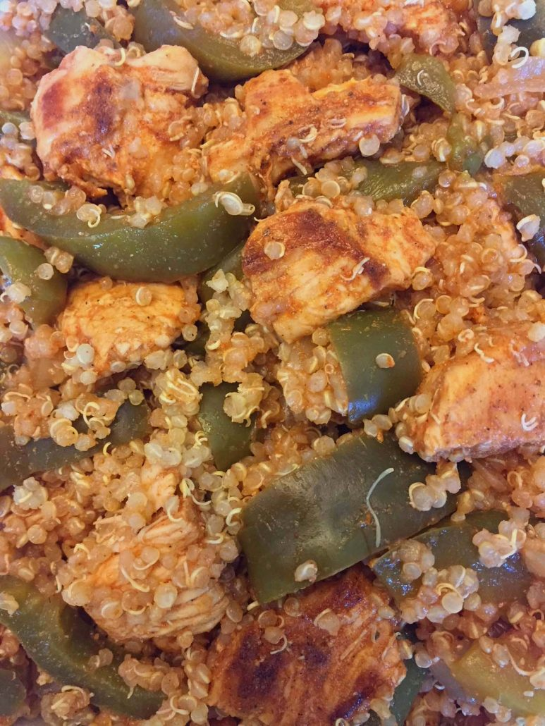 Chicken Fajitas Quinoa