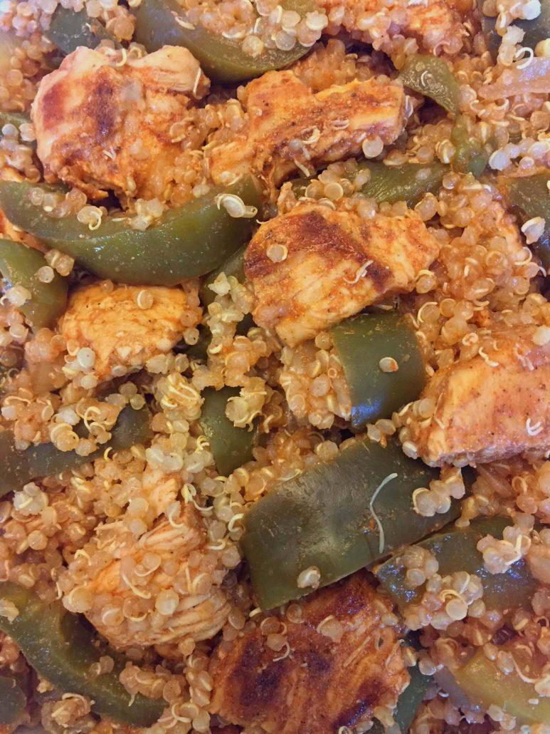 Chicken Fajitas Quinoa