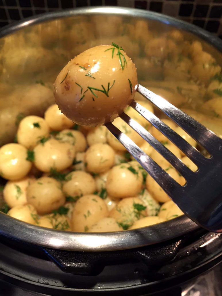 Instant Pot Baby Potatoes Recipe