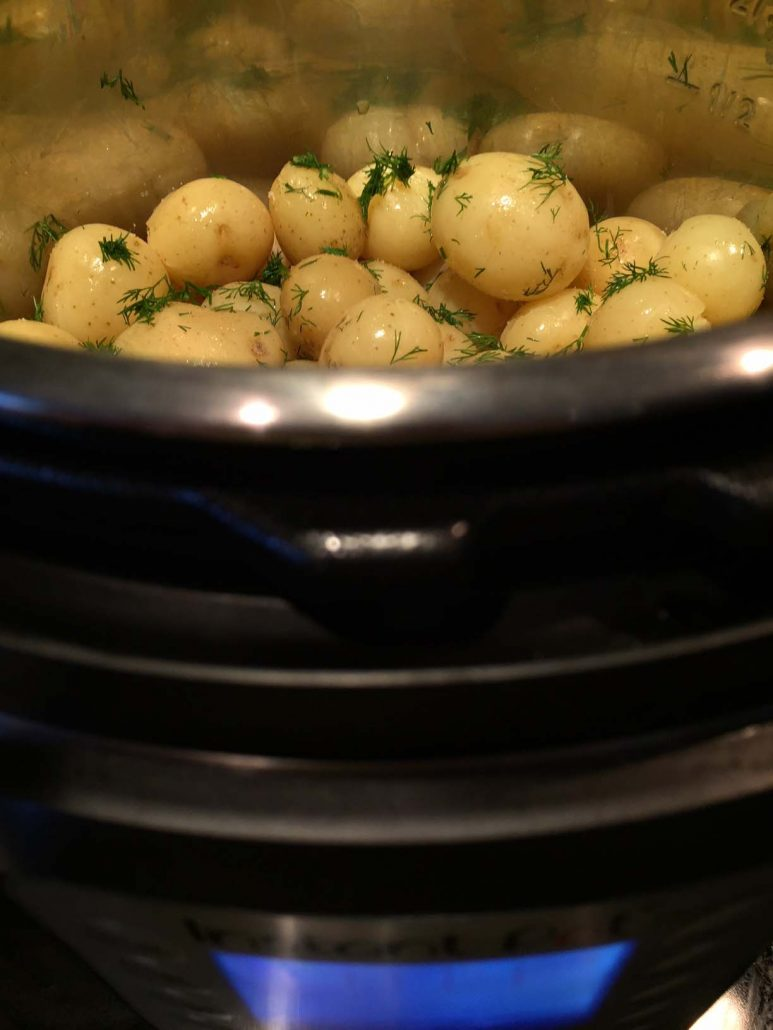Pressure Cooker Baby Potatoes