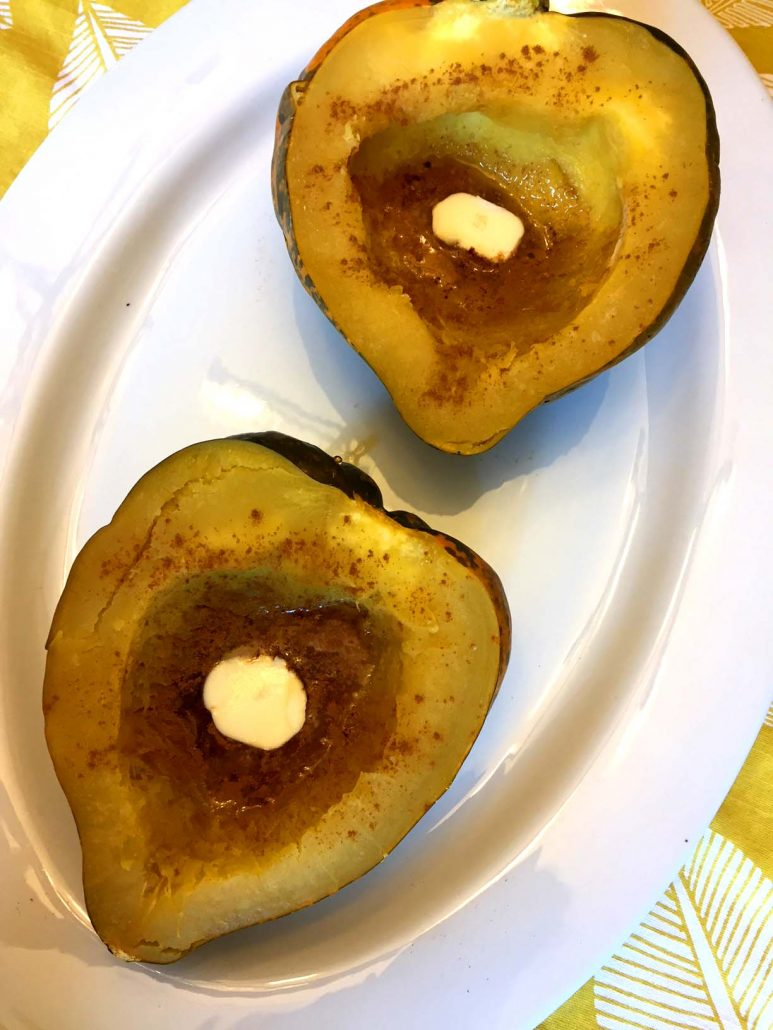 how to cook white acorn squash