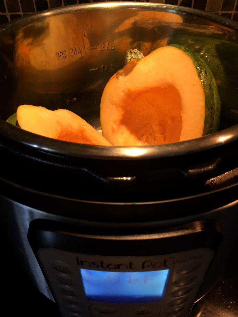 Instant Pot Acorn Squash recipe