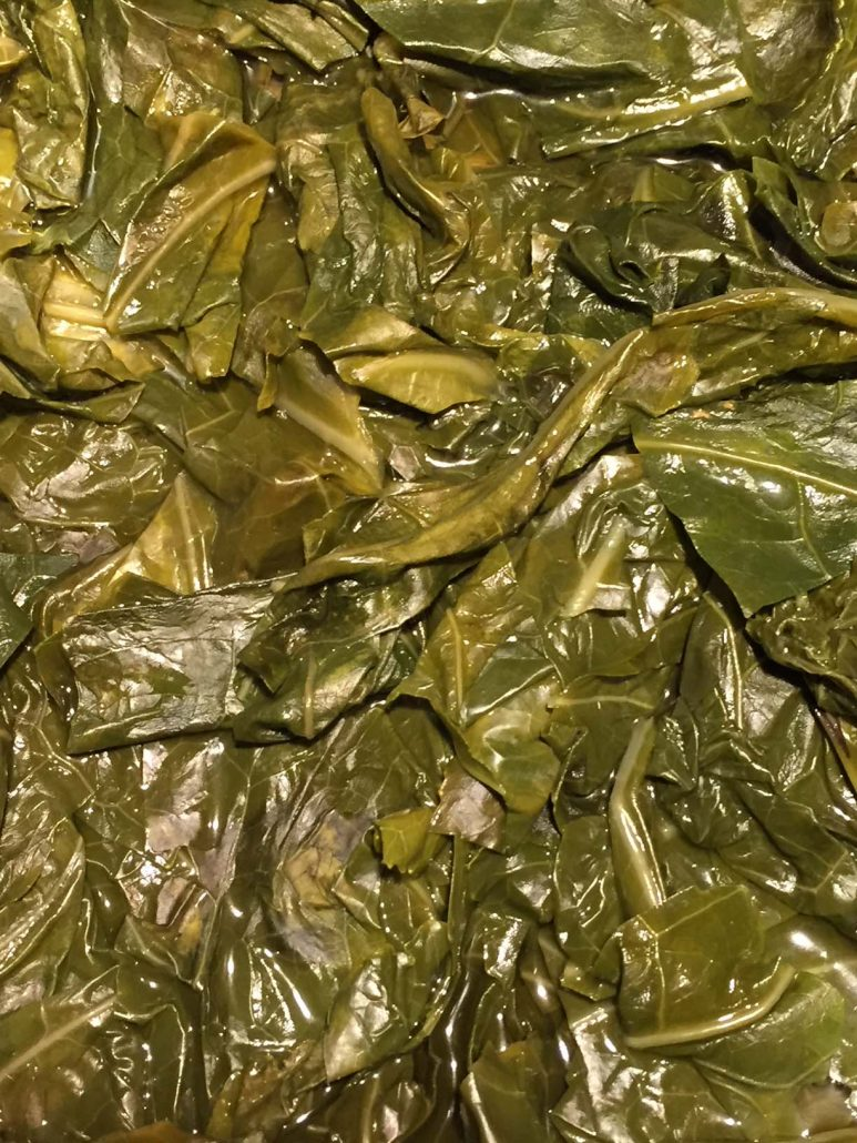 Pressure Cooker Collards