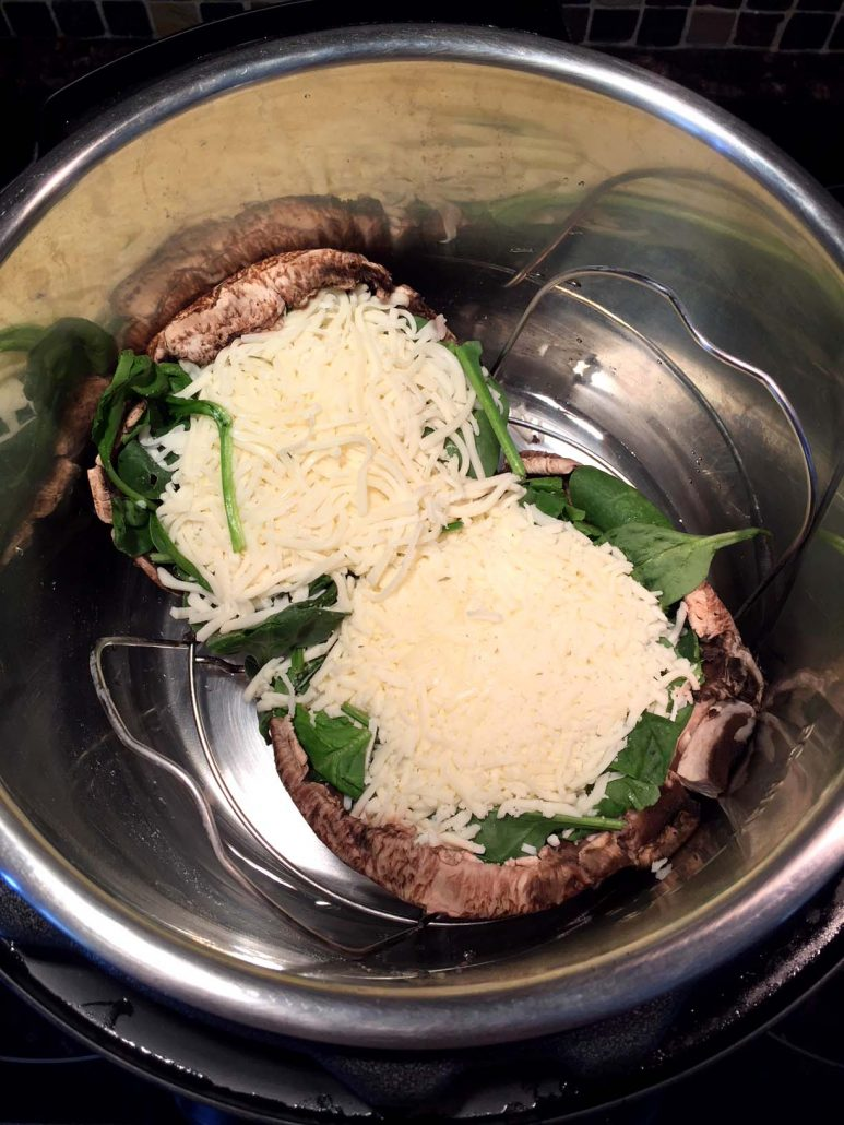 Instant Pot Portobello Pizza Recipe