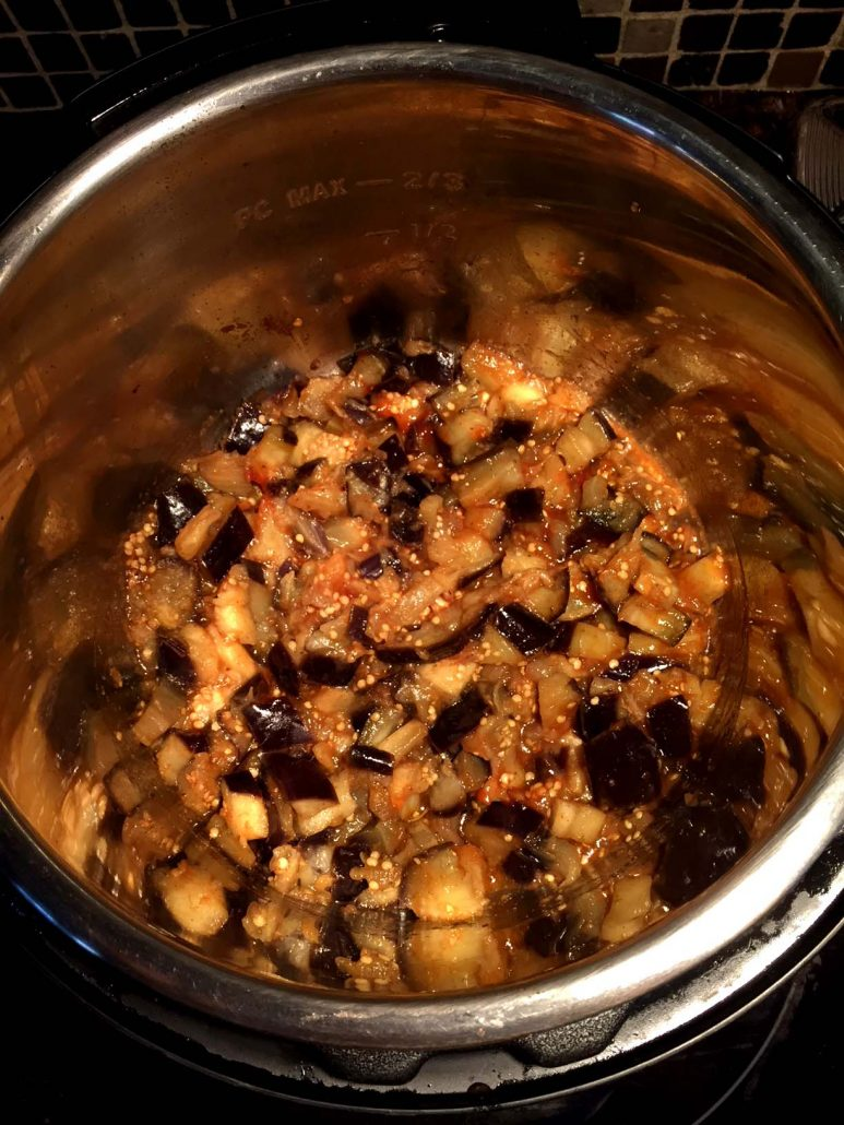 Cooking Eggplant In Instant Pot