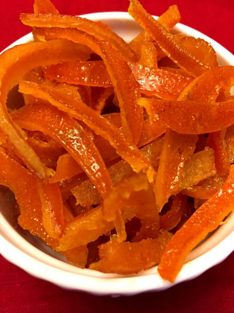 Instant Pot Candied Orange Peel