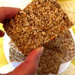 Sesame Honey Bars (Greek Pasteli)