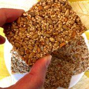 Sesame Seeds Granola Bars Recipe