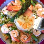 Shrimp And Asparagus Quinoa Bowl Recipe