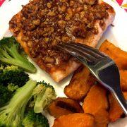 Maple Walnut Crusted Salmon Recipe