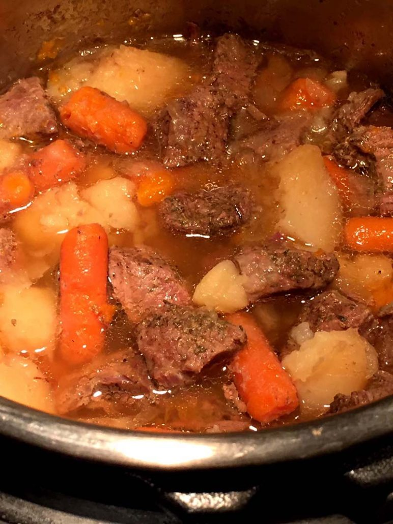 How To Make Instant Pot Beef Stew