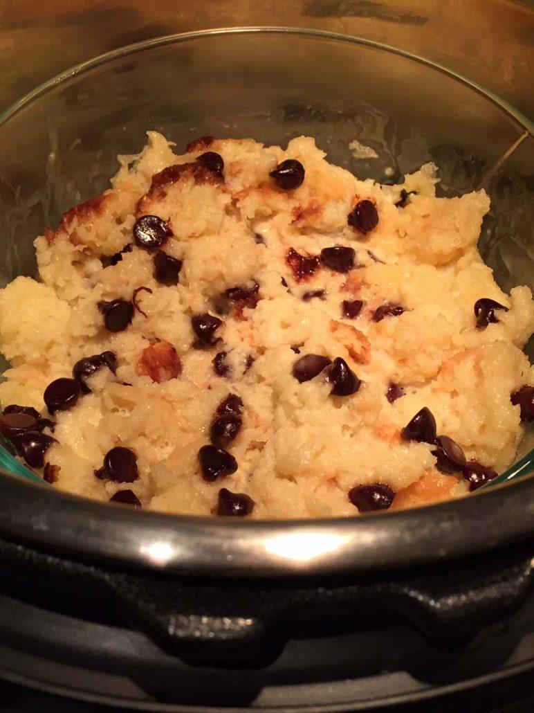 Instant Pot Bread Pudding Recipe