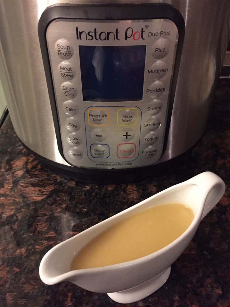 Instant Pot Gravy Step By Step