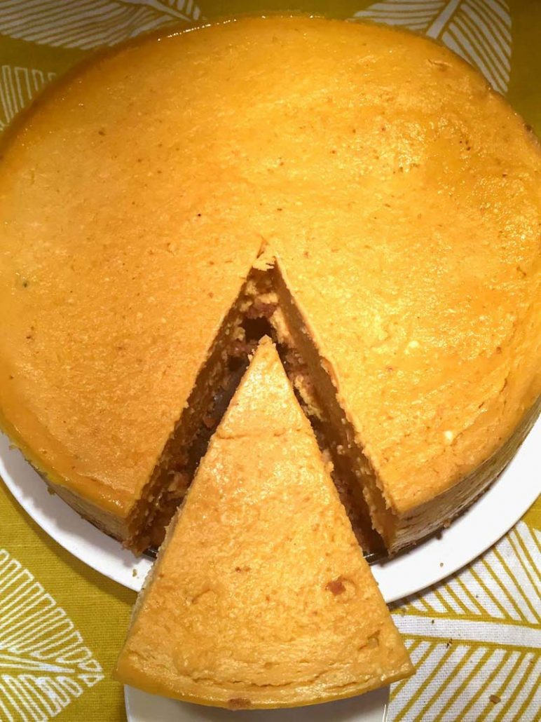 Instant Pot Pumpkin Cheesecake Easy Recipe