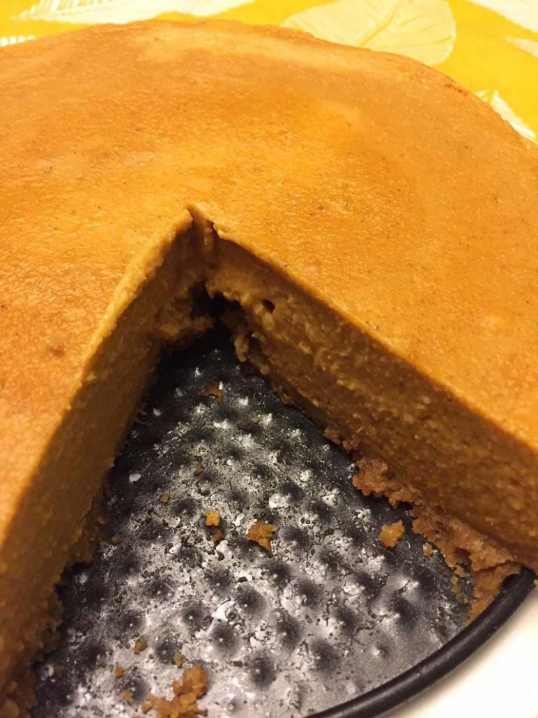 Best Ever Instant Pot Pumpkin Pie