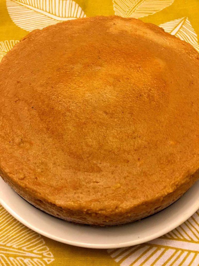 Instapot Homemade Pumpkin Pie