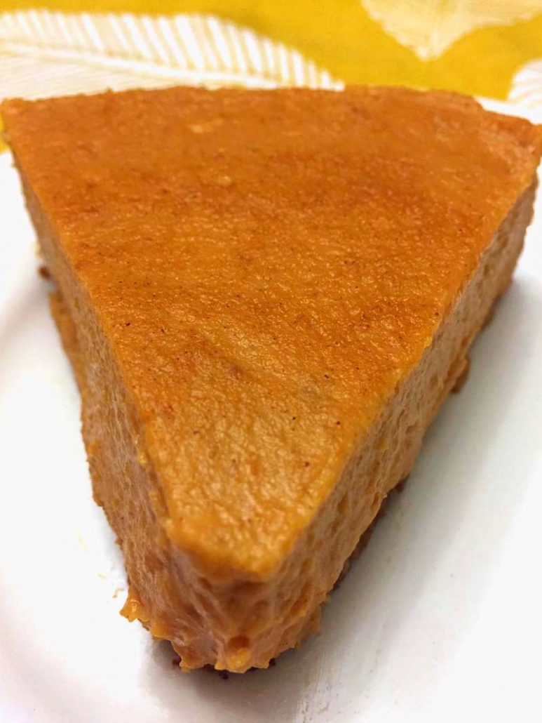 Pressure Cooker Pumpkin Pie Recipe