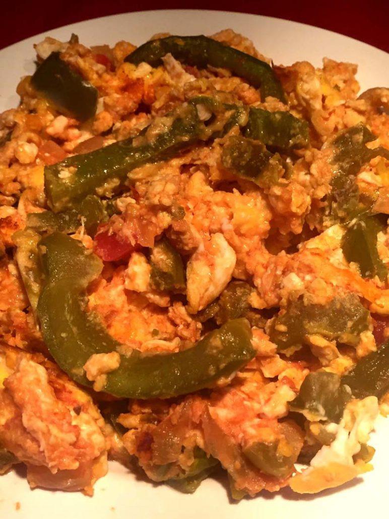 Mexican Scrambled Eggs Recipe