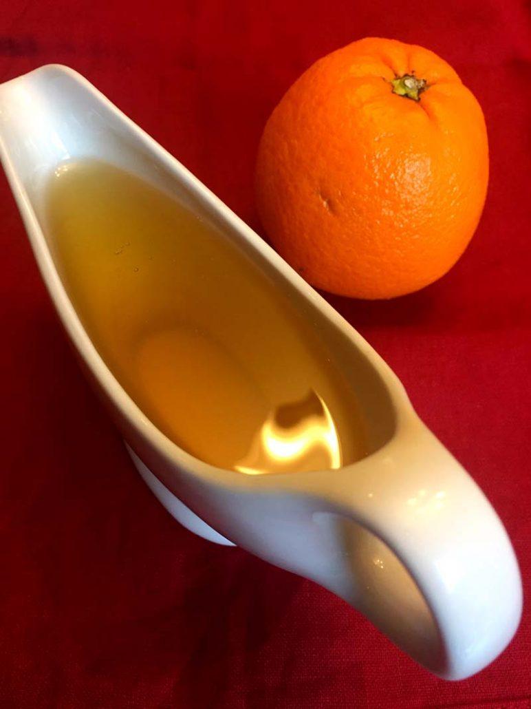 Orange Sugar Syrup