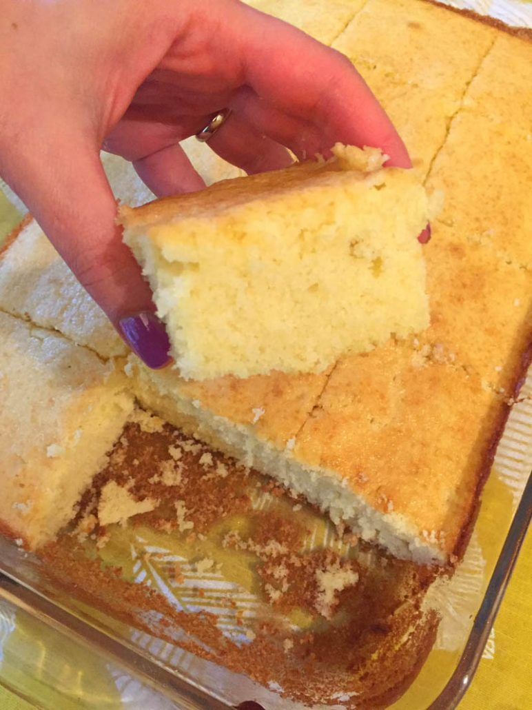 Easy cake from scratch vanilla