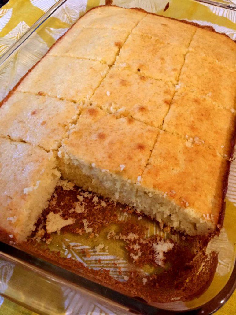 White Cake or Yellow Cake or Vanilla Cake