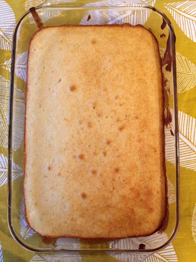 Homemade Vanilla Cake